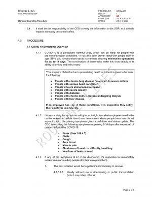 COVID-19 SOP 2